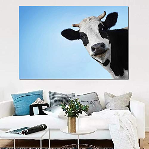 Sakkdaull al Cow s ati LoftBirthday Wedding New Accommodation Weihnachtsdekoration Ornament Geschenk Kirsche 40 x 50 cm DIY Malen mit Zahlen