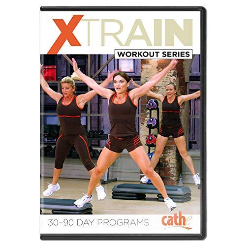 Cathe Friedrich XTrain Series 9 DVD Workout Cross Training Bundle Set