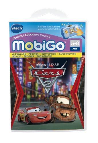 VTech–251905–Lernspielfür dasSpiel Mobigo–Cars 2