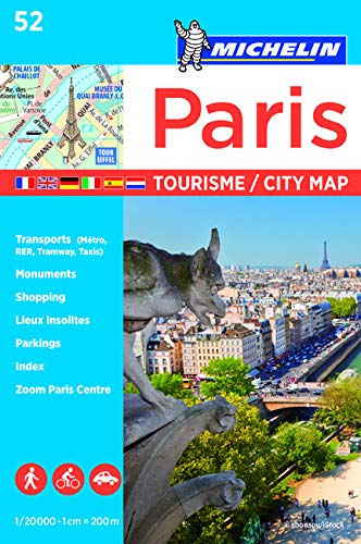 Plano Paris Tourisme: City Plans (Michelin City Plans)