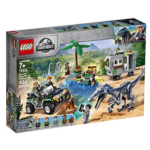 LEGO75935JurassicWorldEncuentroconelBaryonyx:LaCazadelTesoroJuguete...
