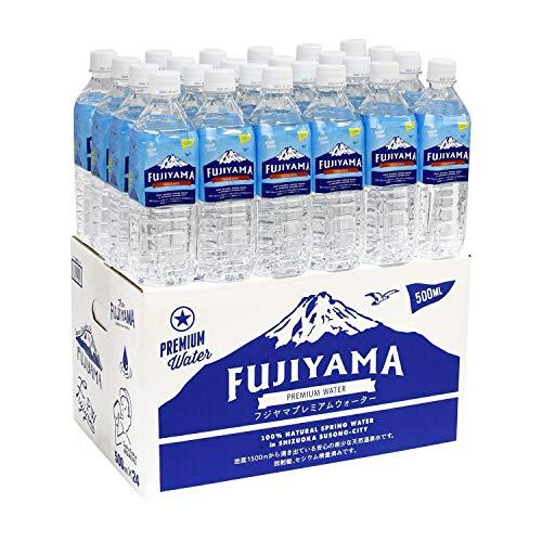富士山の健康美容温泉水 天然アルカリ 1ケース500mlx24本入り