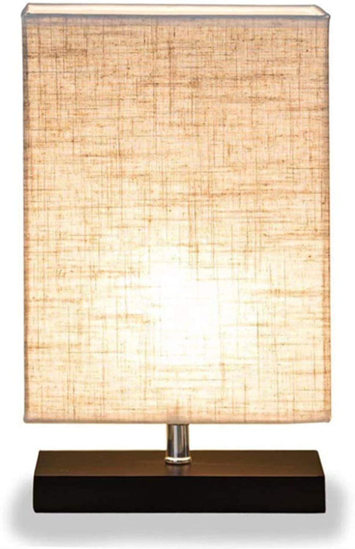 Moderne Minimalistische Rechteckige Tischlampe Massivholz Massivholz Massivholz Schlafzimmer Nachttisch LED-Licht Geeignet Für Das Studium Wohnzimmer Babyzimmer Etc. B07JJ5TS1J  | Große Klassifizierung  eeb95f