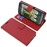 foto-kontor Tasche für Doro Liberto 825 Book Style rot Schutz Hülle Buch