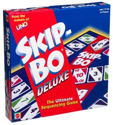 Skip-Bo Deluxe Card Game