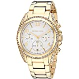 Michael Kors Women's Blair Quartz Watch with Stainless Steel Strap, Gold, 20 (Model: MK6762)