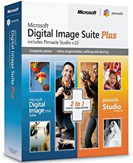 Microsoft Digital Image Suite 2006 Plus Pinnacle Studio 10.0 [Old Version]