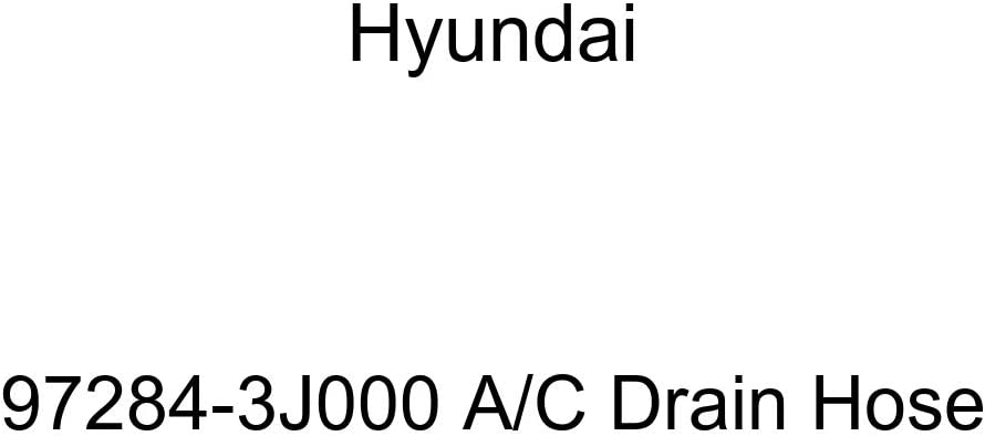 Genuine Hyundai 97284-3J000 Bombing new work A Max 44% OFF C Drain Hose