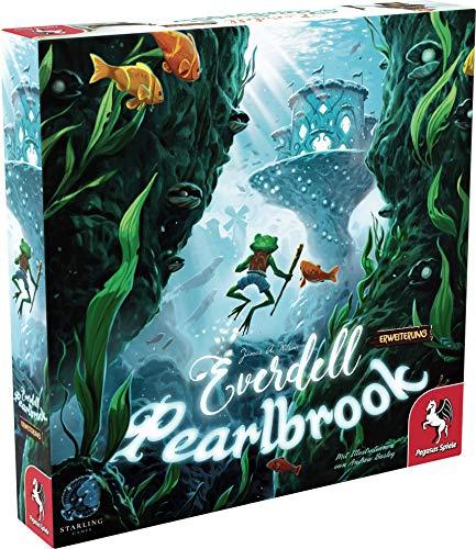 Pegasus Spiele 57601G Everdell: Pearlbrook (deutsche Ausgabe)