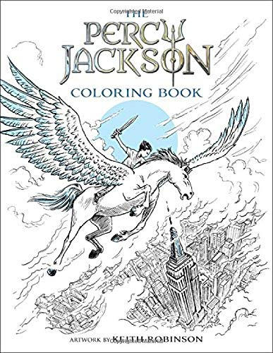 Percy Jackson and the Olympians The Percy Jackson Coloring Book (Percy Jackson and the Olympians) (Percy Jackson & the Olympians)