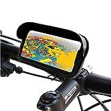 Handyhalterung fahrrad motorrad schutzhülle blendschutz Gültig für Smartphones bis 7
