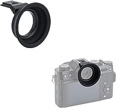 Kiwifotos Soft Silicone Extended Eyecup Eyepiece for Fuji Fujifilm X-T30 X-T20 X-T10 XT30 XT20 XT10 Mirrorless Camera