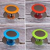 Rosso, Blu, Verde, Arancione Deer Platz 4 Pezzi Manopole =Ricambio Manopola del Coperchio della Casseruola Pot Coperchio Manopola Pentole Parti di Ricambio