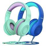 Kinder Kopfhörer, Mpow CH6 Kopfhörer für Kinder mit 85dB Lautstärkeregler Schalter Over Ear...
