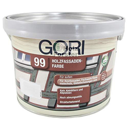 GORI 99 Holz- und Fassadenfarbe 7086 Schokoladenbraun, 2,50 Liter