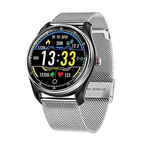 Reloj Inteligente 1.22 Pulgadas Pantalla Fitness Tracker Deportes Podómetro Pulsera Mensaje Push Recordatorio Inteligente IP68 Impermeable-1