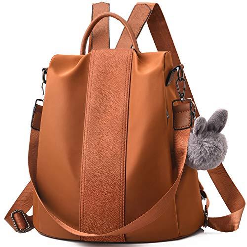 Charmore Damen Rucksack Wasserdichte Nylon Schultasche Anti Diebstahl Daypack Schultertasche Leichtgewicht Reiserucksack