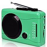DIGITNOW! USB Mini estéreo de audio reproductor de cassette personal retro y grabador con...