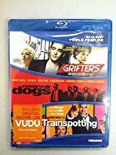 3 Blu-Ray Movie Collection The Grifters, Reservoir Dogs, Trainspotting