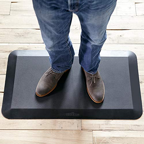Varidesk-Standing Desk Anti-Fatigue Comfort Flat Mat