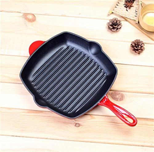 Freying pan no palo Frying PANNERS CAST HIERR PANJADA PANTELLA PAN PANJE DE PANTILLA DE SALJE DE SALJE 27 CM Freír la sartén para la bandeja antiadherente Pan fáciles de usar