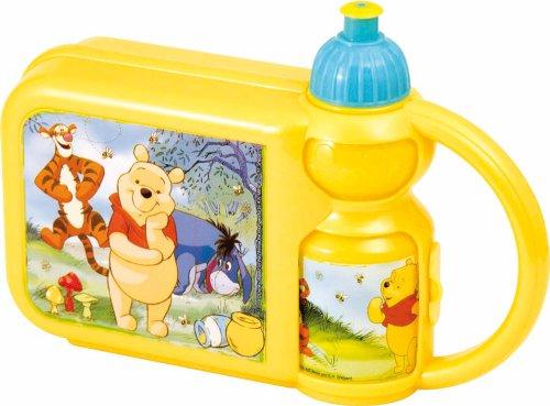 Set Box Portamerenda + Borraccia Disney Winnie The Pooh
