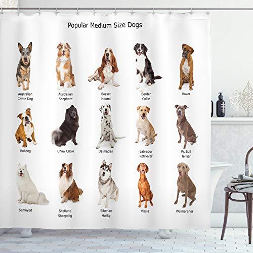 cortinas de baño bulldog