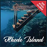 Calendar 2022 Rhode Island: Rhode Island Official 2022 Monthly Planner, Square Calendar with 19 Exclusive Rhode Island Photoshoots from July 2021 to December 2022