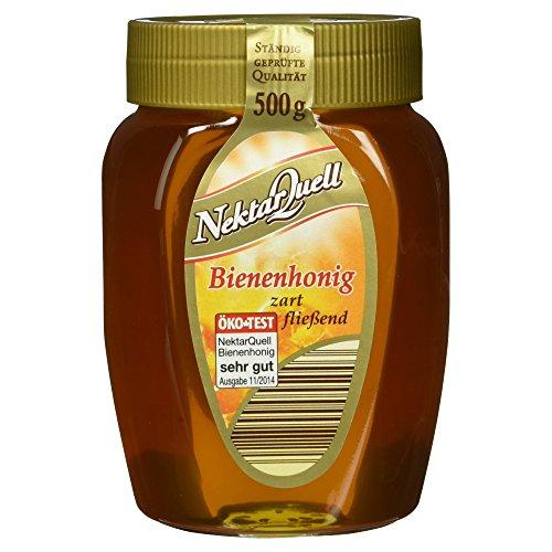 NektarQuell Bienenhonig goldklar zart fließend, 500 g