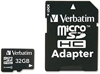 Verbatim Class 4 Micro SD 32GB Speicherkarte mit Adapter