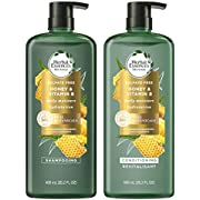 Herbal Essences Shampoo and Conditioner Kit with Honey and Vitamin B, Natural Source Ingredients, Sulfate Free, Color Safe, 20.2 Oz Each