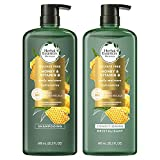 Herbal Essences Shampoo and Conditioner Set, Infused with Real Aloe and Honey, Natural Ingredients and Color Safe, 20.2 Oz Each