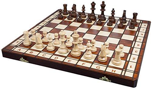 Albatros -   Holz-Schachspiel