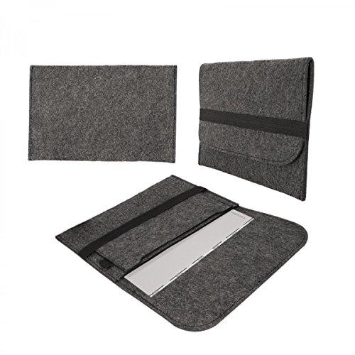 eFabrik Funda protectora para Lenovo Yoga 900-13, fieltro, color gris oscuro