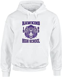 Brand88 - Hawkins High School, Adult's Printed Hoodie