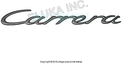 Porsche 997 Carrera Emblem Titanium engine Decklid OEM