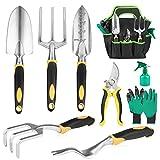 Batech Ensemble d'outils de jardin 3 pièces - Kit de jardinage robuste en...