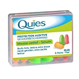 Quies Rubber Foam Ear Plugs 6 Pairs by Quies...