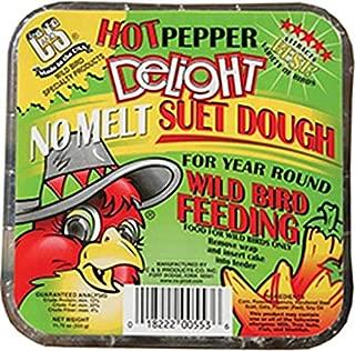 C&S Hot Pepper Delight No-Melt Suet Dough 11.75oz