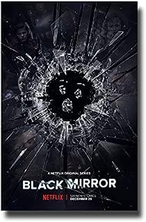 Black Mirror Poster TV Show 11 x 17 inches Netflix Glass