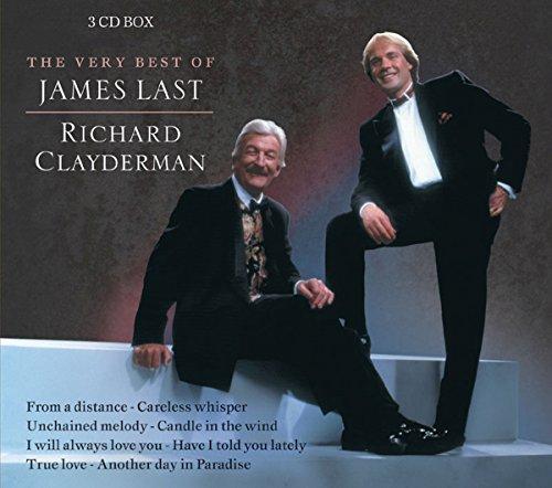 The Very Best of James Last Richard Clayderman - Set of 3 cd