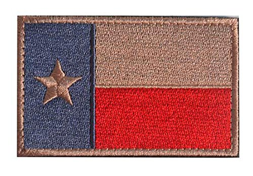 WZT Texas State Flag Patches-Tactical Morale