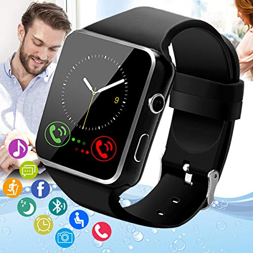 Peakfun Smart Watch,Android Smartwatch Touch Screen Bluetooth Smart Watch for Android Phones Wrist...