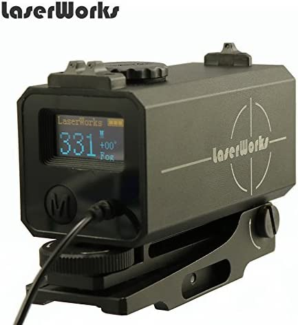 LaserWorks LE-032 In a popularity Riflescope Mate Mini Tactical Max 78% OFF rangefinder 700M
