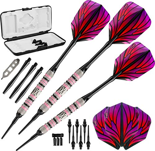 Viper Wings 80% Tungsten Soft Tip Darts with...