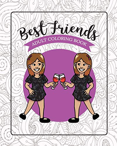 Best Friends Adult Coloring Book