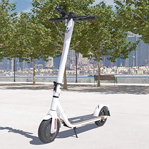 Viron E-Scooter mit Straßenzulassung Elektro Scooter ABE Aluminium Elektroroller Faltbar Roller EScooter eKFV Zulassung Führerscheinfrei (Weiss)