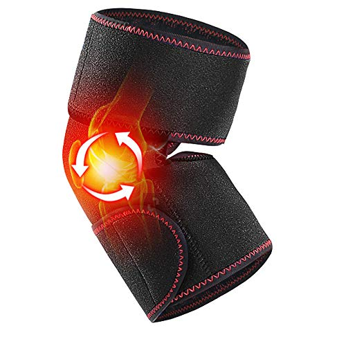 XDXDO Infrared Thermal Compress Knee Pads, Rechargeable Knee Pads, with Timing And Three Temperature Adjustment Functions, Which Can Relieve Pain