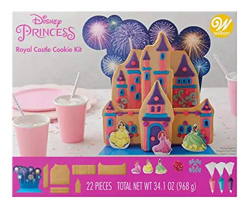 Wilton Gingerbread House Kit, Princess Palace, 34.1 oz.