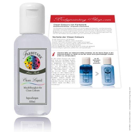 Unbekannt Farbstark Clean Liquid - Mischflüssigkeit 100 ml